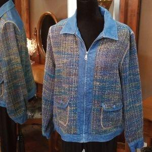 Koret Light Zipper Jacket Size Large
